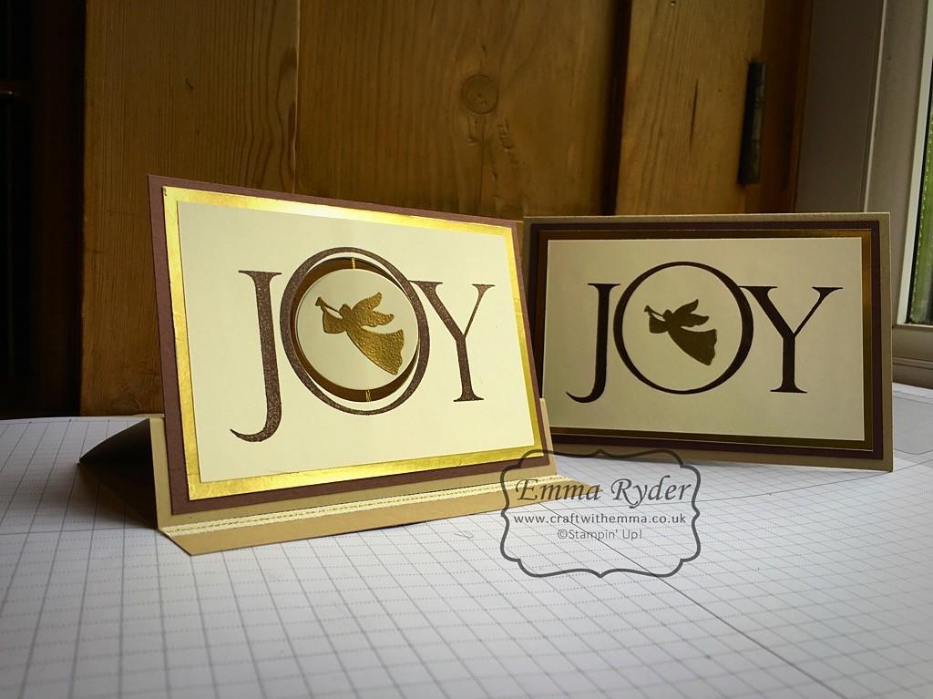 Easel Spinner Christmas Card