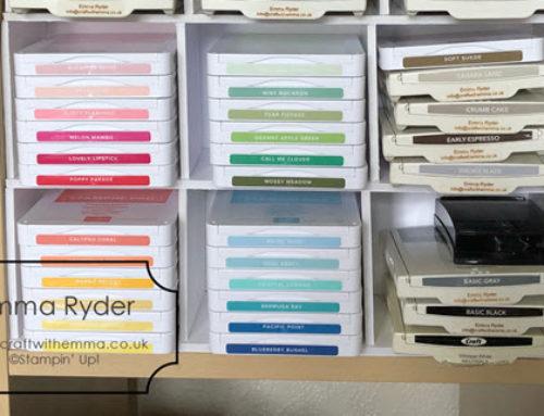 New ink pad storage