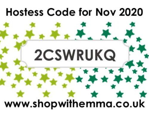 New Hostess Code for November