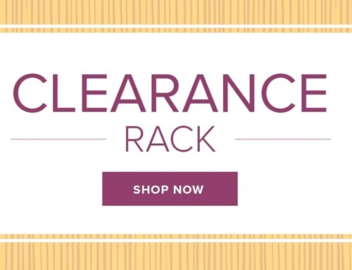 Clearance Rack updated!