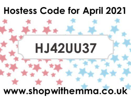 Hostess Code for April